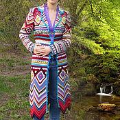 """Одежда ручной работы. Ярмарка Мастеров - ручная работа Пальто  в стиле """"Миссони"""". Handmade."""
