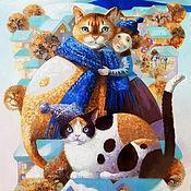 Картины и панно ручной работы. Ярмарка Мастеров - ручная работа Принт Тепло зимы. Handmade.