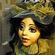 Коллекционные куклы ручной работы. Заказать Авторская кукла по мотивам Мадмуазель Лили. Татьяна Ларина. Ярмарка Мастеров.
