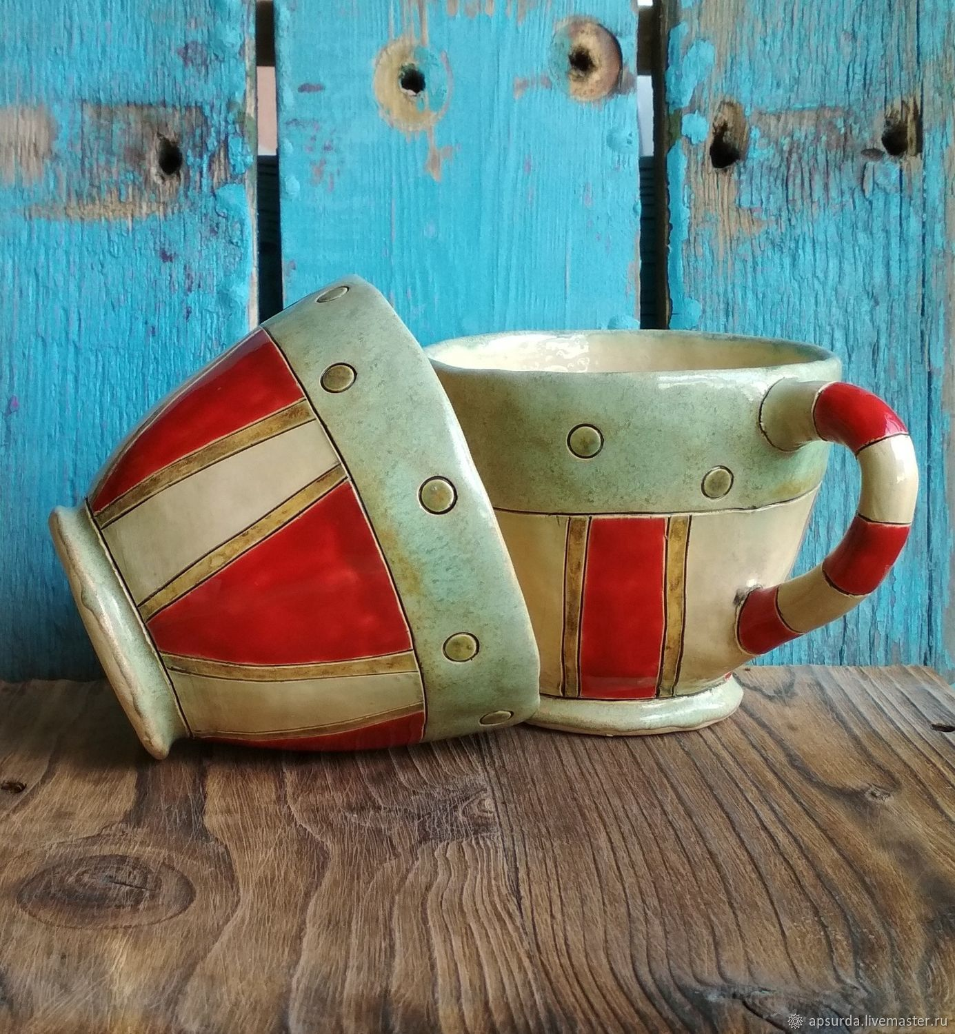 Tea Cup № 16, Mugs and cups, Rostov-on-Don,  Фото №1
