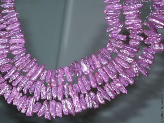 Для украшений ручной работы. Ярмарка Мастеров - ручная работа. Купить Жемчуг Кейши, ярко розовый (Ж-9). Handmade.