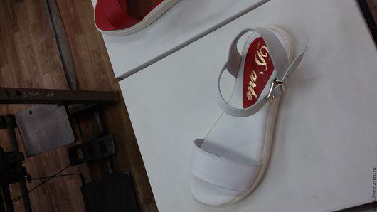Обувь ручной работы. Ярмарка Мастеров - ручная работа. Купить Женские босоножки. Handmade. Женская обувь, босоножки летние