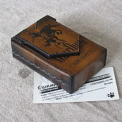 Сувениры и подарки handmade. Livemaster - original item Cigarette case. sigaretta. Personalized gift. A variant with a brand. Handmade.