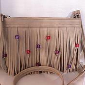 Сумки и аксессуары ручной работы. Ярмарка Мастеров - ручная работа Летняя сумка с бусинами. Handmade.