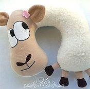 Подарки к праздникам handmade. Livemaster - original item pillow headrest sheep lucy. Handmade.