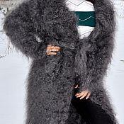 Одежда handmade. Livemaster - original item Down coat with collar uryupinsky goat down 100% organic. Handmade.
