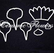 Материалы для творчества handmade. Livemaster - original item A set of cutters Carnations, plastic. Handmade.
