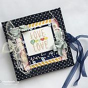Сувениры и подарки ручной работы. Ярмарка Мастеров - ручная работа Папка для CD диска из ткани. Handmade.