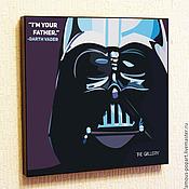 Картины и панно handmade. Livemaster - original item Picture star wars poster, Darth Vader. Handmade.