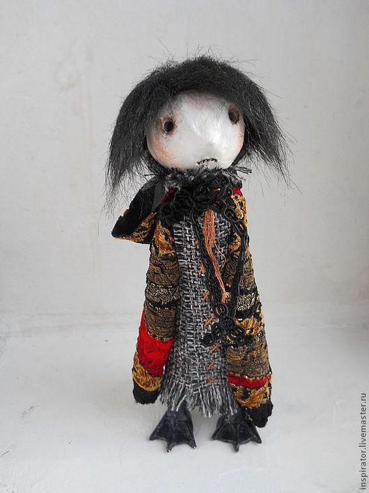 Коллекционные куклы ручной работы. Ярмарка Мастеров - ручная работа. Купить Недотыкомка первая добрая - Минька. Handmade. Авторская кукла