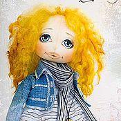 Куклы и игрушки ручной работы. Ярмарка Мастеров - ручная работа Текстильная кукла Фрида. Handmade.