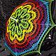 Одежда и аксессуары ручной работы. Ярмарка Мастеров - ручная работа. Купить Зонт №36. Handmade. Комбинированный, желтый, фиолетовый