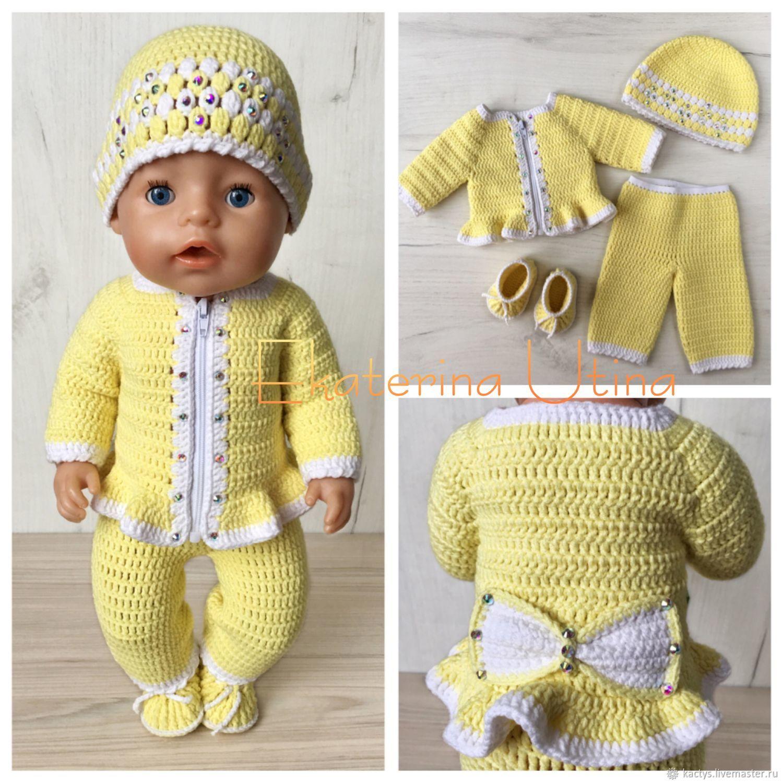 Комплект одежды для куклы baby born / беби бон / беби борн, Одежда для кукол, Санкт-Петербург,  Фото №1