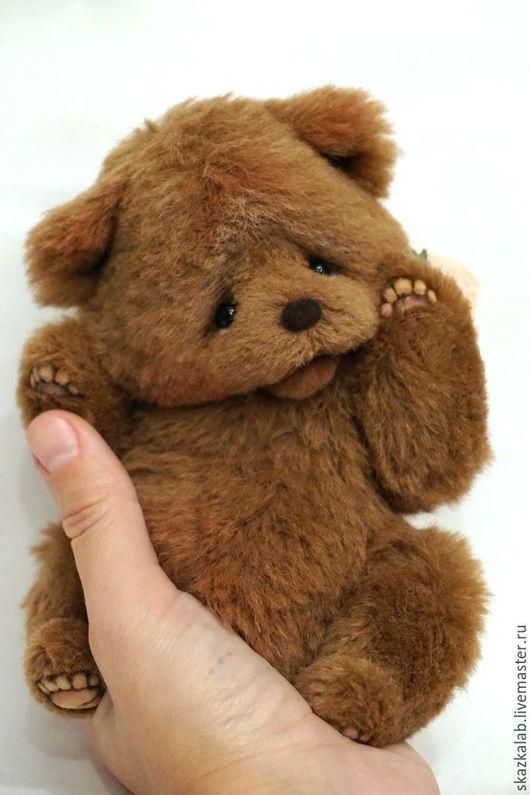 Мишки Тедди ручной работы. Ярмарка Мастеров - ручная работа. Купить Пухлик. Handmade. Коричневый, милый, тонировка маслом