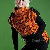 """Одежда ручной работы. Ярмарка Мастеров - ручная работа Жилет """"Оранж"""". Handmade."""