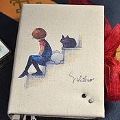 """Канцелярские товары ручной работы. Ярмарка Мастеров - ручная работа Блокнот ручной работы """"Cats"""". Handmade."""