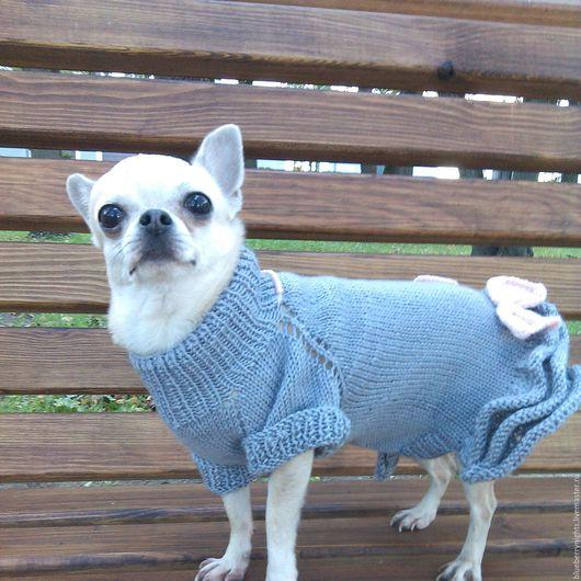"""Одежда для собак, ручной работы. Ярмарка Мастеров - ручная работа. Купить Платье для собачки """" Твист """". Handmade."""