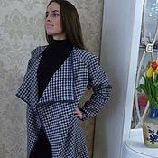 Одежда ручной работы. Ярмарка Мастеров - ручная работа Летнее пальто кардиган Куриная лапка. Handmade.