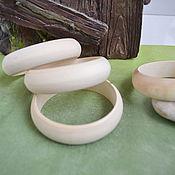 Материалы для творчества handmade. Livemaster - original item Wooden bracelets, blanks for creativity. Handmade.