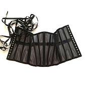 Corsets handmade. Livemaster - original item Transparent lingerie Classic corset. Handmade.