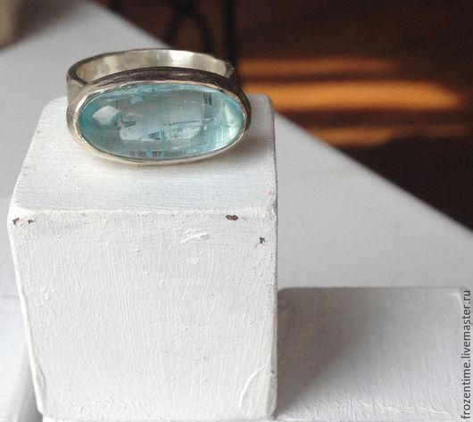 Кольца ручной работы. Ярмарка Мастеров - ручная работа. Купить Небеса. Продан. Handmade. Голубой, серебро