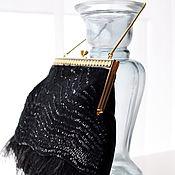 Сумка с фермуаром ручной работы. Ярмарка Мастеров - ручная работа Элегантная вечерняя сумочка. Handmade.