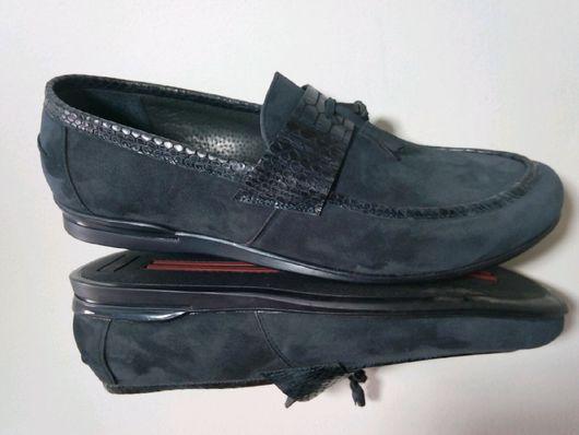 """Обувь ручной работы. Ярмарка Мастеров - ручная работа. Купить Готовые, мужские лоферы """"КП"""". Handmade. Обувь ручной работы"""