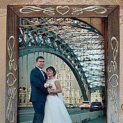 Канцелярские товары handmade. Livemaster - original item frame for wedding photo. Handmade.