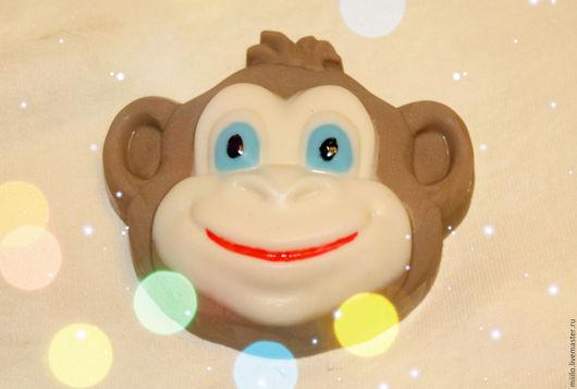 Мыло ручной работы. Ярмарка Мастеров - ручная работа. Купить мыло Веселая обезьянка. Handmade. Коричневый, мыло обезьянка