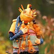 Куклы и игрушки ручной работы. Ярмарка Мастеров - ручная работа Осенний тролль Асбджорн. Handmade.