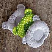 Комплекты одежды ручной работы. Ярмарка Мастеров - ручная работа Подушка для новорожденного. Handmade.