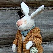 Stuffed Toys handmade. Livemaster - original item Follow the white rabbit ... Handmade.