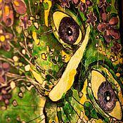 Картины и панно ручной работы. Ярмарка Мастеров - ручная работа Кот Видит. Handmade.