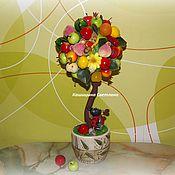 Цветы и флористика ручной работы. Ярмарка Мастеров - ручная работа Фруктовый топиарий. Handmade.