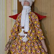 Куклы Тильда ручной работы. Ярмарка Мастеров - ручная работа Кукла Ангел.. Handmade.