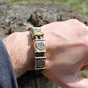 Украшения handmade. Livemaster - original item Rubber bracelet - Slavic symbols. Handmade.