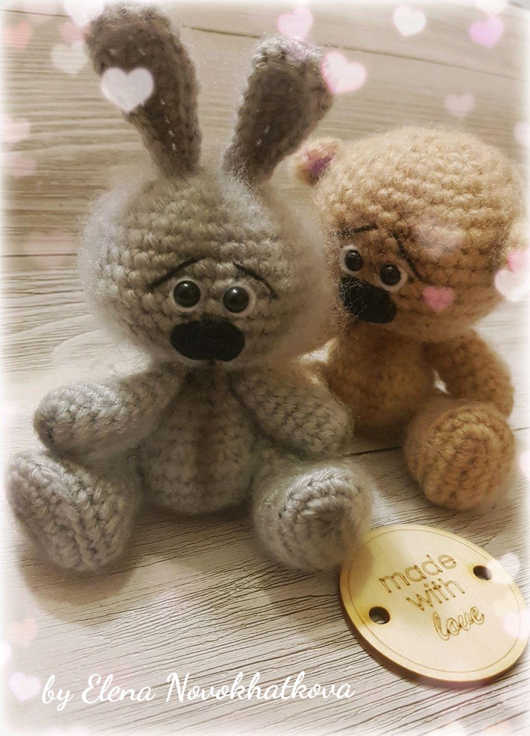 Заяц/медведь, Игрушки, Сосновый Бор, Фото №1