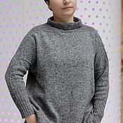 Одежда ручной работы. Ярмарка Мастеров - ручная работа Размер не имеет значения. Женский уличный свитер. Handmade.