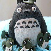 """Куклы и игрушки ручной работы. Ярмарка Мастеров - ручная работа Статуэтка """"Тоторо"""". Handmade."""