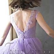 """Платья ручной работы. Ярмарка Мастеров - ручная работа """"Аметист"""" короткое платье. Handmade."""