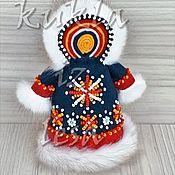Русский стиль handmade. Livemaster - original item Folk handmade doll, gift doll, doll Khanty Paky, ethnic doll. Handmade.