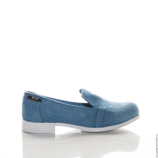 Обувь ручной работы. Ярмарка Мастеров - ручная работа. Купить Лоферы  9-322 (ВБ). Handmade. Сапожки ручной работы