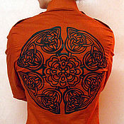 Одежда ручной работы. Ярмарка Мастеров - ручная работа Мужская рубашка. Handmade.