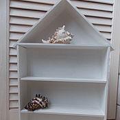 Для дома и интерьера ручной работы. Ярмарка Мастеров - ручная работа Домик с полочками. Handmade.