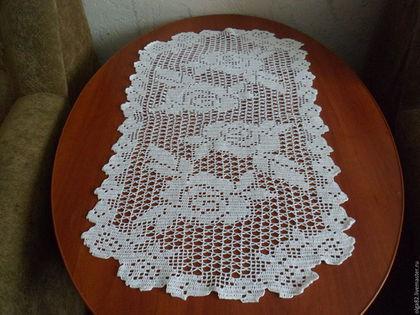 Текстиль, ковры ручной работы. Ярмарка Мастеров - ручная работа. Купить Дорожка овальная