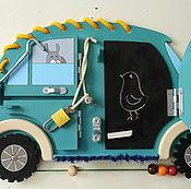 Куклы и игрушки ручной работы. Ярмарка Мастеров - ручная работа Машинка Мини-Блю 2.0. Handmade.