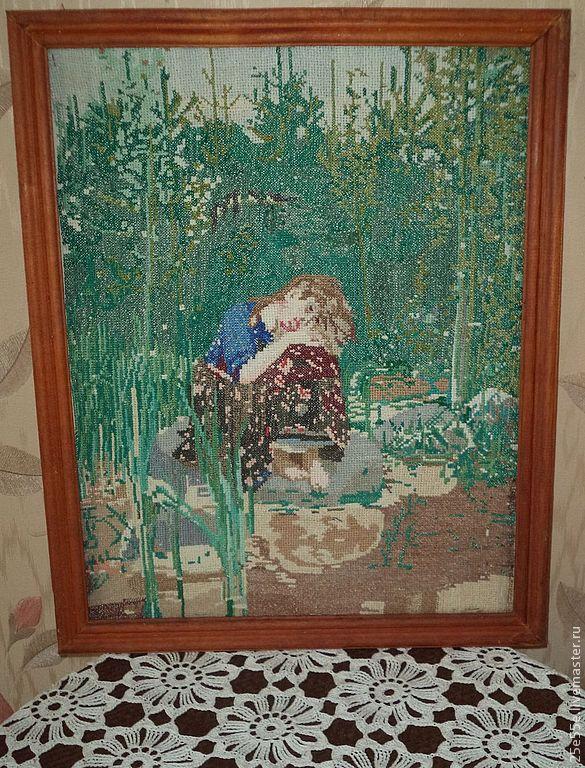 Картина аленушки для вышивки