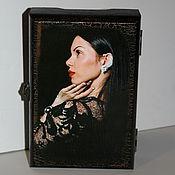 Шкатулка под украшения с вашим фото