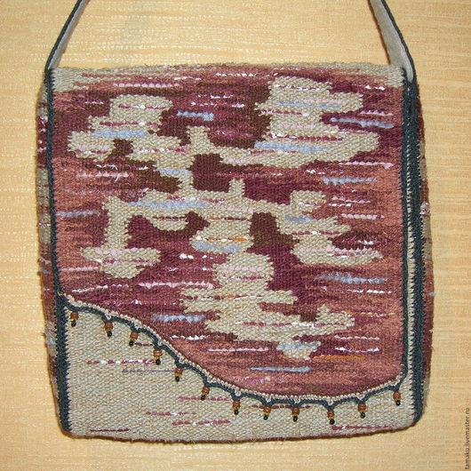 Женские сумки ручной работы. Ярмарка Мастеров - ручная работа. Купить Тканая сумка. Handmade. Сумка, звериная расцветка, текстиль