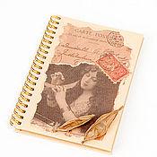 """Канцелярские товары ручной работы. Ярмарка Мастеров - ручная работа Блокнот """"Сны"""". Handmade."""